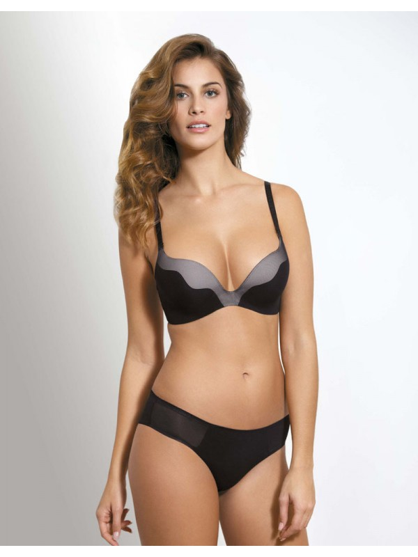 BEZEŠVÁ PUSH-UP PODPRSENKA SEAMLESS A6-0648